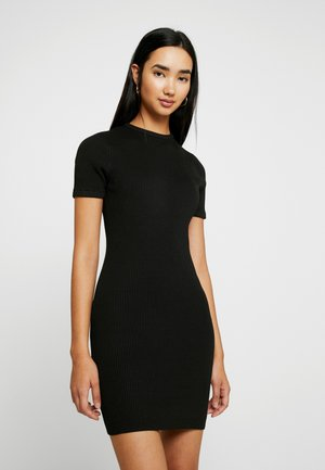 LOTTIE TRUE MINI DRESS - Robe pull - black