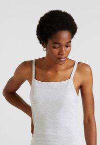 Cotton On - LOW BACK STRAPPY MIDI DRESS - Shift dress - grey marle - 3