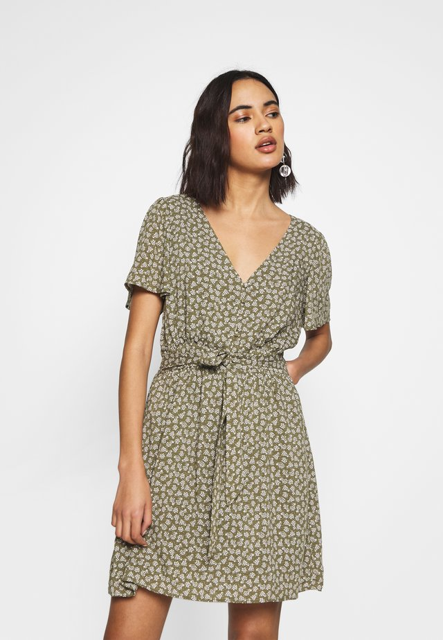 WILLOW TEA DRESS - Day dress - khaki