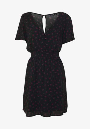WILLOW TEA DRESS - Robe d'été - black