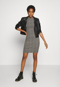 Cotton On - TOBY MINI DRESS - Shift dress - black - 2