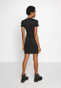 Cotton On - TOBY MINI DRESS - Shift dress - black - 3