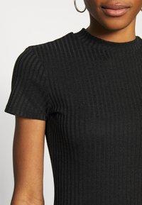 Cotton On - TOBY MINI DRESS - Shift dress - black - 6