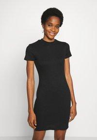 Cotton On - TOBY MINI DRESS - Shift dress - black - 0