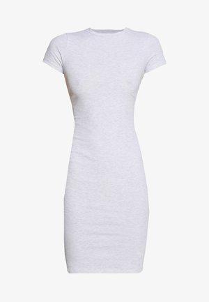 GISELLE SHORT SLEEVE DRESS - Etui-jurk - grey