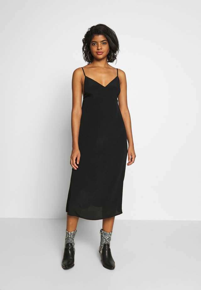 WOVEN VERONICA DRESS - Day dress - black