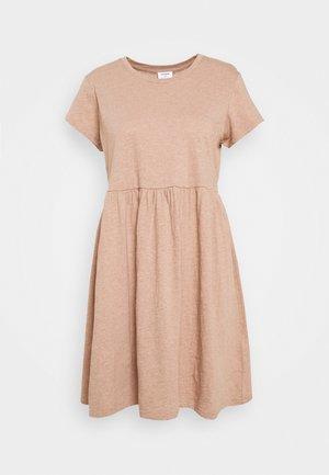 TINA BABYDOLL DRESS - Jersey dress - natural marle