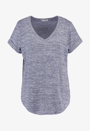 KARLY SLEEVE V NECK - T-shirt basique - greys twist