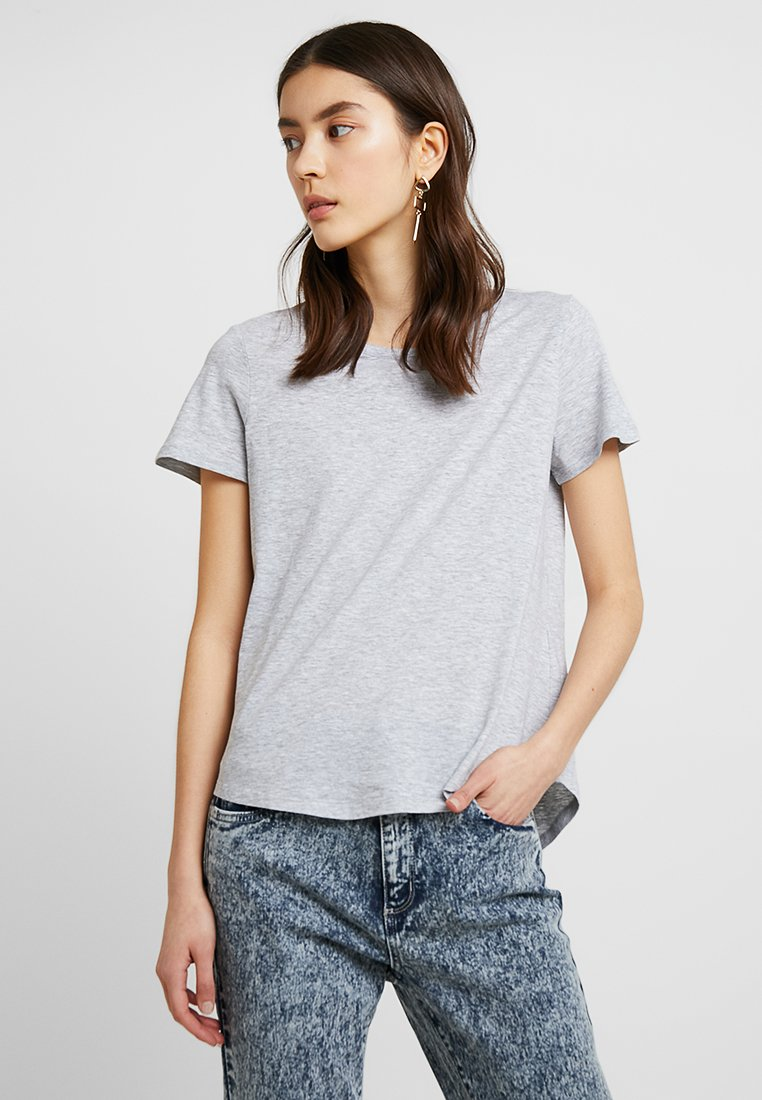 Cotton On - THE CREW - Print T-shirt - grey marle