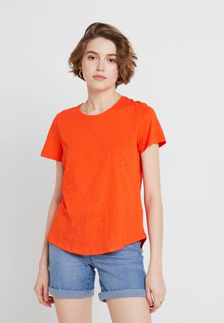 Cotton On - THE CREW - T-Shirt print - cherry tomato