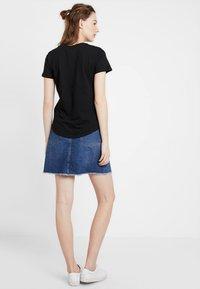 Cotton On - THE CREW - T-shirts basic - black - 2