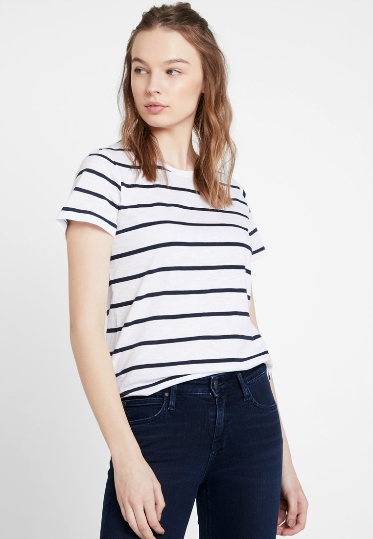 Cotton On - THE CREW - T-Shirt print - white/moonlight