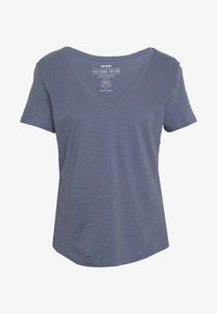 Cotton On - THE DEEP V - T-shirt basic - grisaille - 4