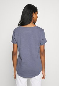Cotton On - THE DEEP V - T-shirt basic - grisaille - 2