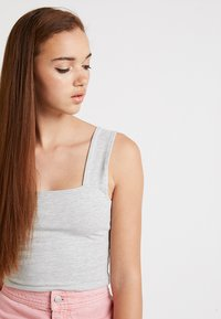 Cotton On - MOLLY WIDE STRAP TANK - Top - grey marle - 4