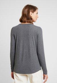 Cotton On - THE GIRLFRIEND LONG SLEEVE - Topper langermet - charcoal - 2