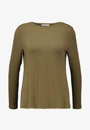 THE GIRLFRIEND LONG SLEEVE - T-shirt à manches longues - winter moss