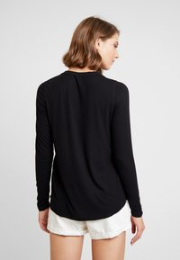 Cotton On - THE GIRLFRIEND LONG SLEEVE - Maglietta a manica lunga - black - 2