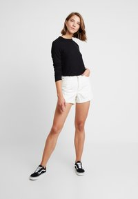 Cotton On - THE GIRLFRIEND LONG SLEEVE - Maglietta a manica lunga - black - 1