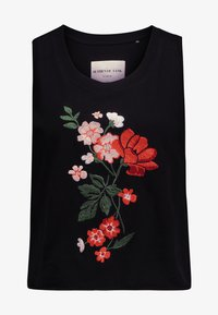 Cotton On - THE EMBELLISHED GRAPHIC TANK - Top - black - 3