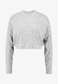 Cotton On - JASPER MOCK NECK TEXTURED LONG SLEEVE - Trui - grey - 3