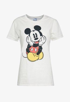 CLASSIC MICKEY - Print T-shirt - gardenia