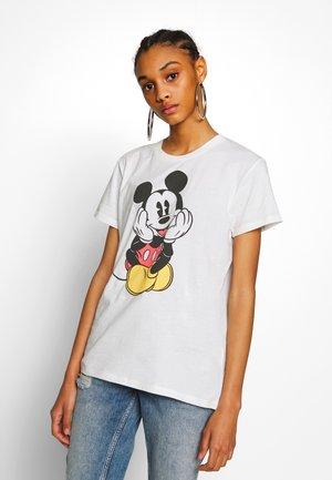 CLASSIC MICKEY - T-Shirt print - gardenia
