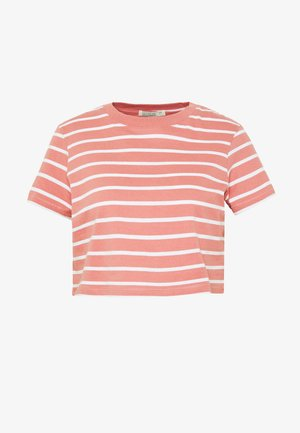 THE ONE BABY TEE - T-shirt imprimé - canyon rose/white