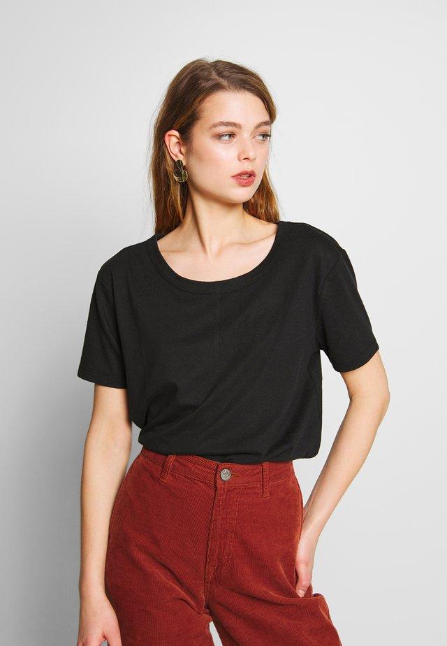 THE HERITAGE TEE - T-shirt basic - black