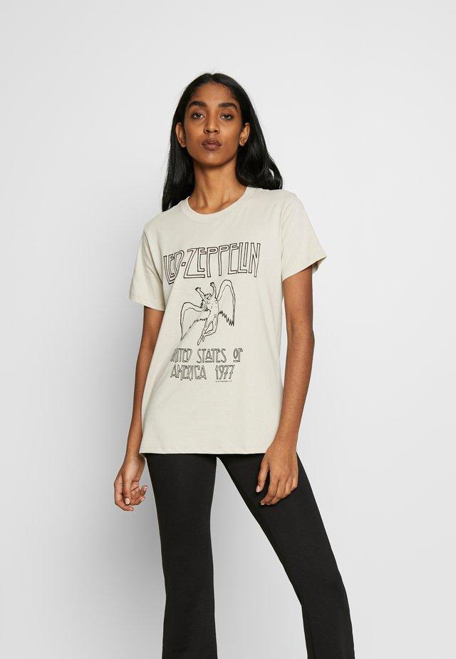 CLASSIC BAND  - T-shirt z nadrukiem - silver grey