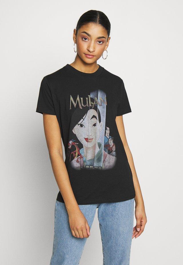 CLASSIC DISNEY - T-shirt z nadrukiem - black