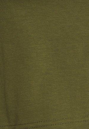 FASHION CROP CAMI 2PACK - Top - black/khaki