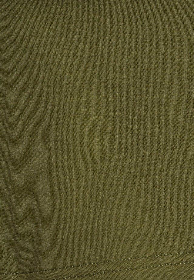 FASHION CROP CAMI - Top - black/khaki