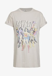 Cotton On - CLASSIC MOVIE TEE - T-shirts print - silver grey - 0