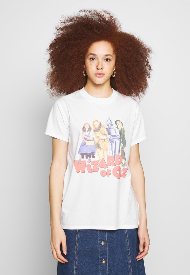 CLASSIC MOVIE TEE - T-shirts med print - white