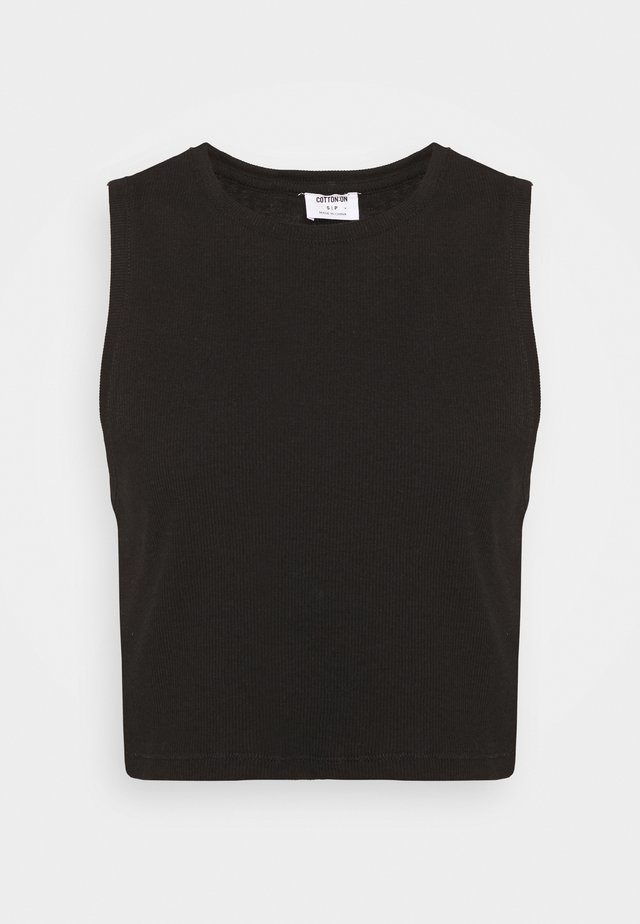 THE WEEKEND TANK - Top - black