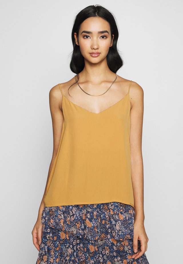 ASTRID CAMI - Top - spruce yellow