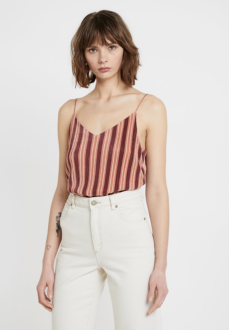 Cotton On - MARTHA CHOPPED CAMI - Toppe - kelly deco rose