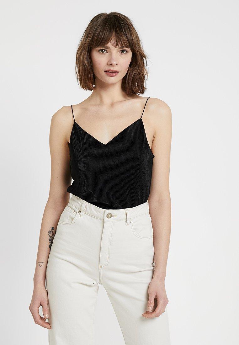 Cotton On - MARTHA CHOPPED CAMI - Top - black