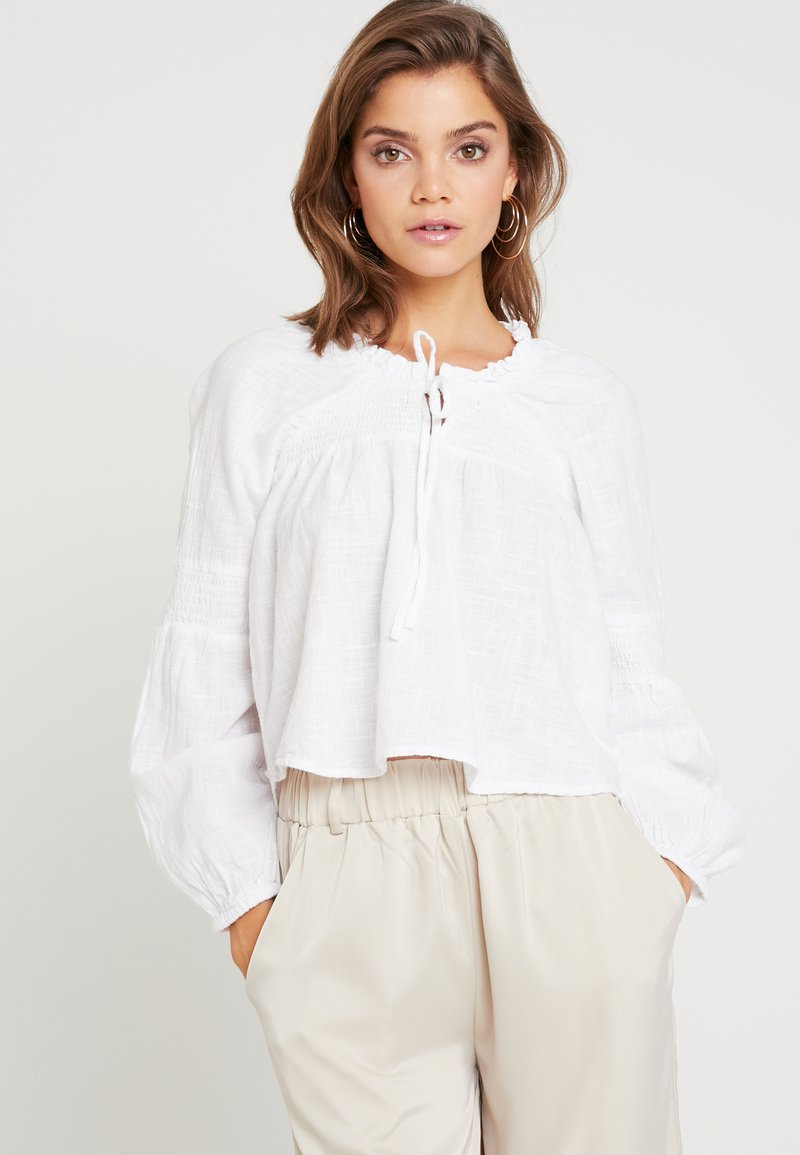 Cotton On - BREANNE BLOUSSON SLEEVE - Blouse - white