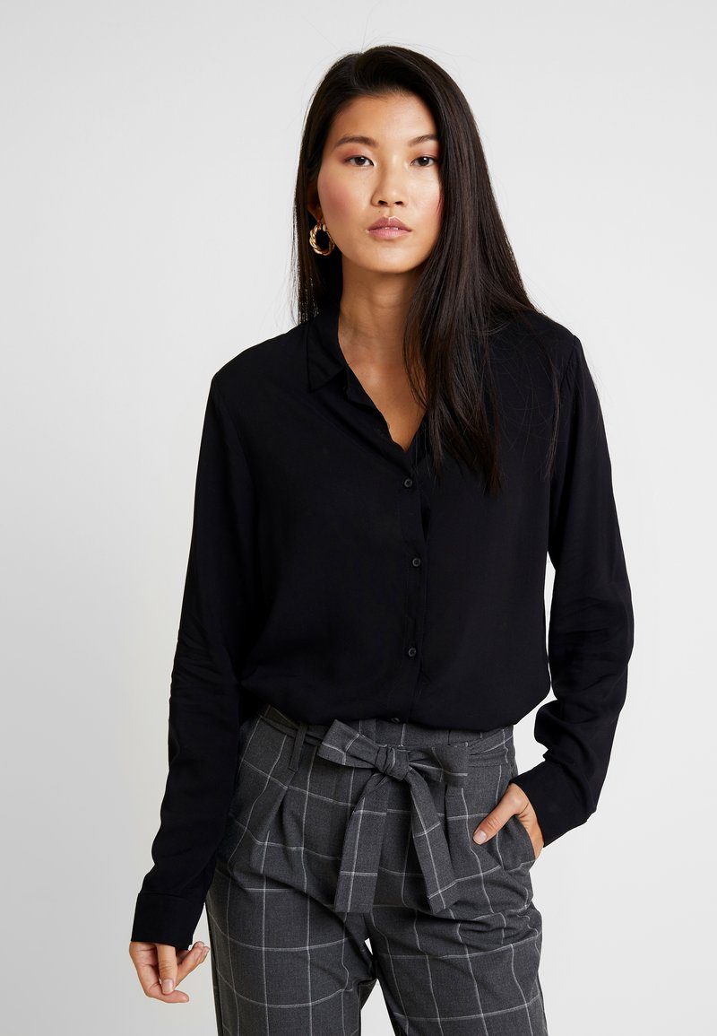 Cotton On - RACHEL EVERYDAY SHIRT - Hemdbluse - black