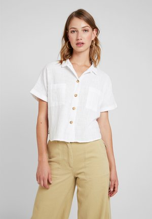 ERIN SHORT SLEEVE - Košile - white