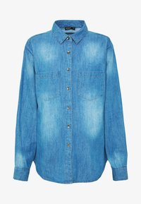 Cotton On - Camisa - mid blue wash - 3