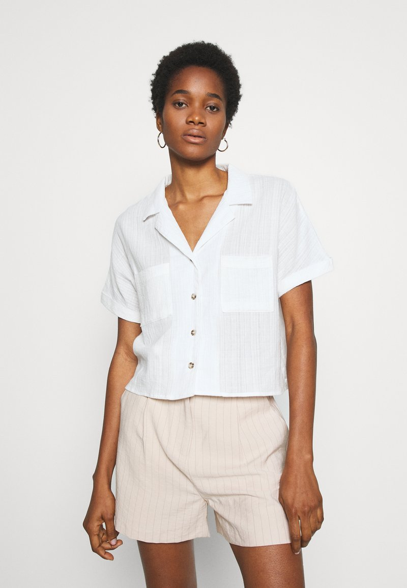 Cotton On - ERIKA SHORT SLEEVE - Košile - white