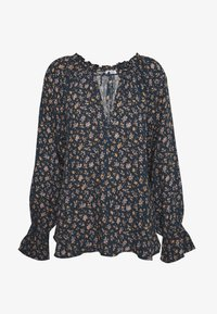 Cotton On - FRILL SLEEVE FASHION BLOUSE - Bluser - dark blue - 3