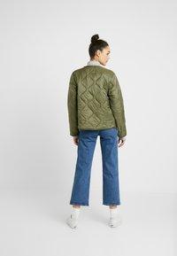 Cotton On - ERIN QUILTED SHELL JACKET - Bomber bunda - winter moss - 2