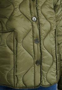 Cotton On - ERIN QUILTED SHELL JACKET - Bomber bunda - winter moss - 5