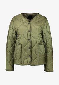 Cotton On - ERIN QUILTED SHELL JACKET - Bomber bunda - winter moss - 4