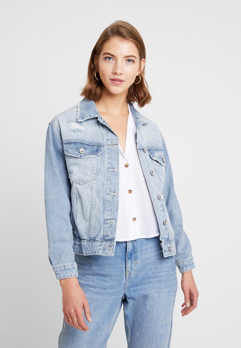 Cotton On - NEW BOYFRIEND JACKET - Spijkerjas - new blue vintage