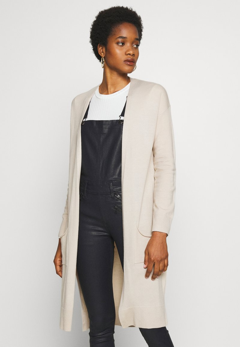 Cotton On - FRANKIE LIGHTWEIGHT LONGLINE CARDI - Cardigan - beige
